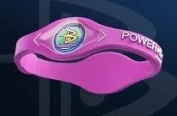 Power balance 100% Surgical Grade Silicone Wristband Balance Bracelet (Purple/White lettering) size Small