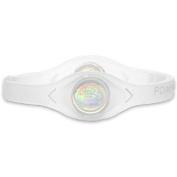 Power Balance Silicone Wristband Clear/White - Medium