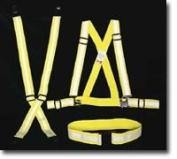 Mutual 14509 Reflective Elastic Wristband with hook and loop Closure, 25.4cm Length x 1-1.3cm Width, Lime