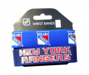 NHL New York Rangers Silicone Rubber Bracelet Set, 2-Pack