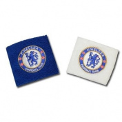 Chelsea Blue/White Wristbands