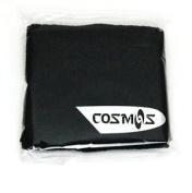 4 pair of COSMOS ® Black/White/Blue/Red cotton sports basketball wristband / sweatband wrist sweat band/brace