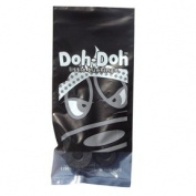 Shorty's Black Doh-Doh Bushings 100a Rock Hard (1 Sets) For Skateboards & Longboards