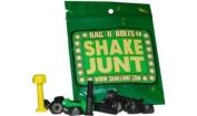 Shake Junt Allen Bag-O-Bolts Green / Yellow Skateboard Hardware Set - 2.5cm