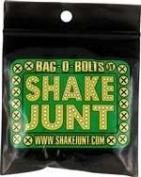 Shake Junt Bag O Bolts All Green & Yellow 2.5cm (allen) 1set Skateboarding Hardware