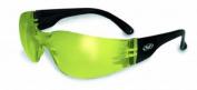 Global Vision Eyewear Rider Anti-Fog Safety Glasses, Yellow Tint Lens