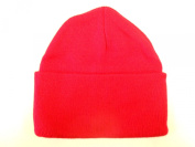LONG BEANIE///RED///SKULL CAP...KNIT SKI HAT///WARM FOR THE WINTER!!!