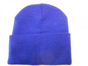 LONG BEANIE///ROYAL BLUE///SKULL CAP...KNIT SKI HAT///WARM FOR THE WINTER!!!
