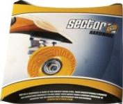 Sector 9 Black Skateboard Hardware Set - 3.2cm