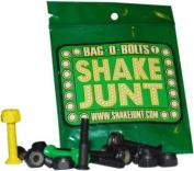 Shake Junt Allen Bag-O-Bolts Green / Yellow Skateboard Hardware Set - 2.2cm
