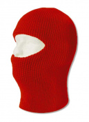 TopHeadwear One 1 Hole Ski Mask - Red