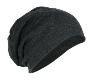 District Slouch Beanie- Charcoal