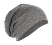 District Slouch Beanie- Light Grey