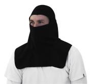 Zan Headgear Fleece Balaclava with Spandex Crown, Black, Size
