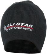 Allstar ALL99953 Black Beanie Hat with Allstar Logo
