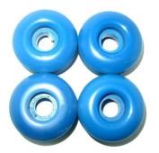Skateboard WHEELS Blank 52mm BLUE Dura Rollers