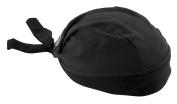 STRETCH HEADWRAP-BLACK MESH