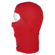KG POLYESTER BALACLAVA FACE MASK - RED, Manufacturer