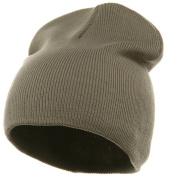 Superior Cotton Knit Cap-Grey W16S11E