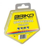 Briko-Maplus Universal Yellow Ski and Snowboard Wax