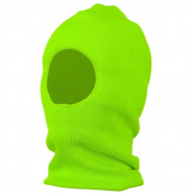 One Hole Thinsulate Face Mask - Neon Green W10S13F