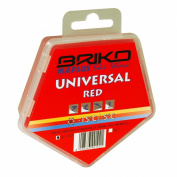 Briko-Maplus Universal Red Ski and Snowboard Wax