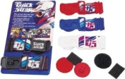 Goggle Quick Strap Goggle Mounting System Blue/Grey - QS-40