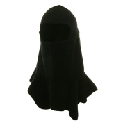 Spandex Crown Balaclava-Black W10S19B
