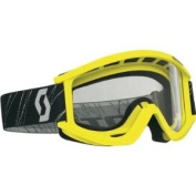 Scott USA Recoil Goggles Yellow/Clear Lens 2177960005041