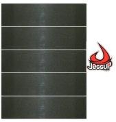 JESSUP SKATEBOARD GRIPTAPE 5 Sheets of BLACK 22.9cm
