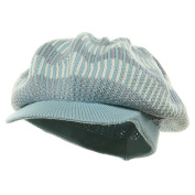 Multi Crown Rasta Beanie Visor-Lt. Grey White W27S20F