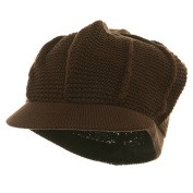 New Plain Cool Running Hat-Brown W27S16F