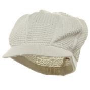 New Plain Cool Running Hat-White W27S16F