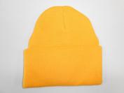 LONG BEANIE///GOLD///SKULL CAP...SKI HAT///WARM FOR THE WINTER!!!
