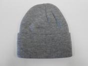 LONG BEANIE///HEATHER grey///SKULL CAP...KNIT SKI HAT///WARM FOR THE WINTER!!!