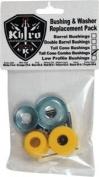 Khiro Tall Cone Combo Bushing/Wash Kit 92a M-Hrd Yellow