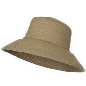 Sewn Braid Winter Fashion Hat - Natural W27S56A