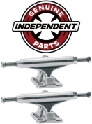 INDEPENDENT Skateboard Trucks 129mm Silver INDY 7.75""