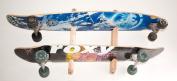 Longboard Wall Rack Mount -- Holds 2 Boards