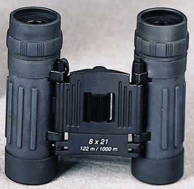 10280 Black Compact 8 X 21MM Binoculars