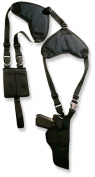 Bulldog Deluxe Shoulder Harness with Holster and AmmPouch, Vertical