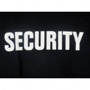 Security T-shirt Police Staff Spy Bouncer Event Costume Humour Tee Xxxl