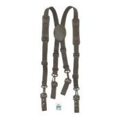 HWC Nylon Police, Fire Adjustable Duty Belt SUSPENDERS