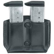 Gould & Goodrich B831-0 Gold Line Double Magazine Case (Black) Fits KAHR ARMS P380; KEL-TEC P3AT, P32; RUGER LCP; SIG P238; SW BODYGUARD 380