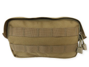 Tacprogear General Purpose Pouch, Coyote Tan, Small