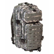 Mil-Tec Military Army Patrol Molle Assault Pack Tactical Combat Rucksack Backpack 30L Acu At-Digital Camo