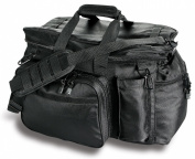 Uncle Mike's Law Enforcement Side-Armour Patrol and Sportsmen's Equipment Bag, Black