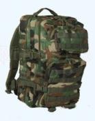 Mil-Tec Military Army Patrol Molle Assault Pack Tactical Combat Rucksack Backpack Bag 50L Woodland