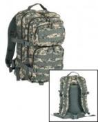Mil-Tec Military Army Patrol Molle Assault Pack Tactical Combat Rucksack Backpack Bag 50L Acu Digital Camo