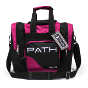 Pyramid Path Single Deluxe Tote Black/Hot Pink